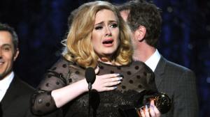 Adele Grammy Acceptance 2012